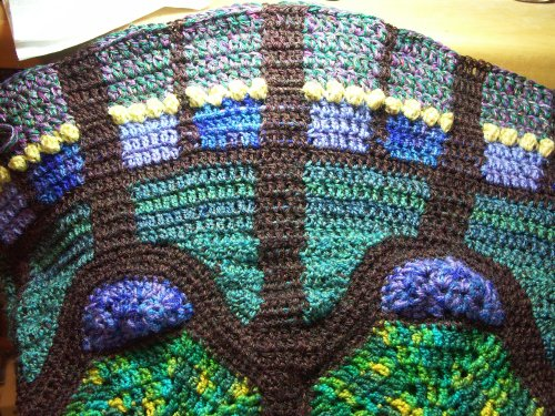 Crochet Pattern Cathedral Windows